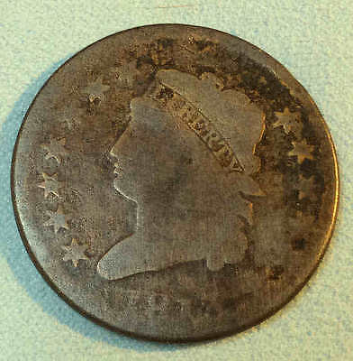 1813 Classic Large Cent KEY Date  Nice FREE SHIPPING