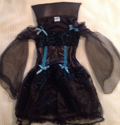 Girls Witch / Sorcerer / Medieval Princess - Halloween Costume - Size: Large