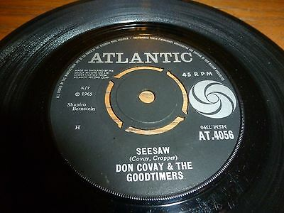Don Covay & The Goodtimers..seesaw..uk 1St Issue Atlantic Label 4056