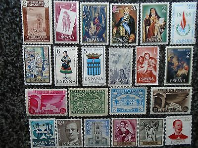 Collection/mixture Of Spain Stamps