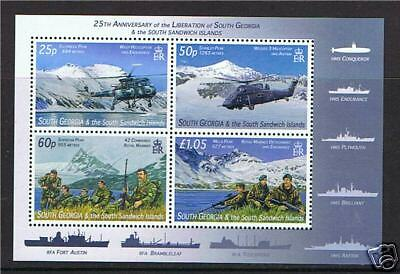 South Georgia 2007 25th Anniv.of Liberation MS SG 439  MNH