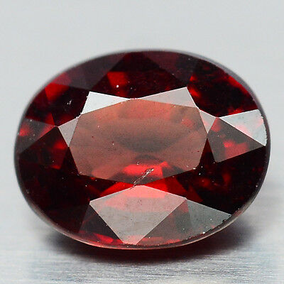 1.87 Ct Aaa! Natural! Red Rhodolite Garnet Oval From Africa