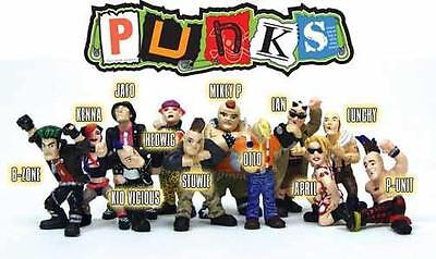 Hey Homies **** Micro Icons Punk figures - great for 1:32 scale dioramas (loose)