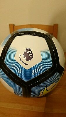 Nike Pitch 2016/17 Premier League Football Ball - White & Blue - Size 5 New