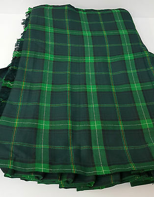 Celtic 8 YARD WOOL  KILT ONLY EX HIRE £99 A1 CONDITION