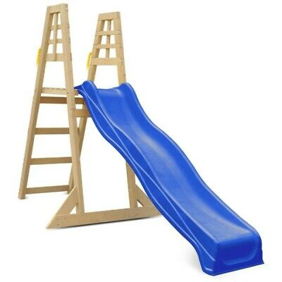 Lifespan Kids 2.2M Climb And Slide Outdoor Kids Backyard Equipment Blue Slide