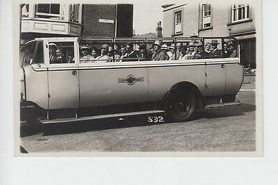 Group in Isle of Wight Tours charabanc at Shanklin?