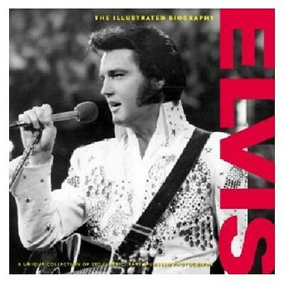 Elvis Presley The King The Illustrated Biography Bio Unseen Hardcover  Photos