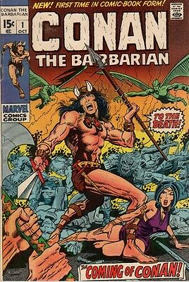 Us Comics Conan The Barbarian #1-275 Sword & Sorcery Collection On Dvd