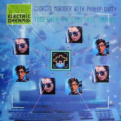 "GIORGIO MORODER WITH PHILIP OAKEY - Together In Electric Dreams (12"") (G/G-)"
