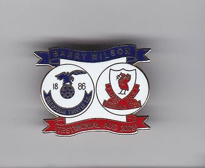 Inverness Caledonian Thistle v Liverpool (Barry Wilson Testimonial) lapel badge