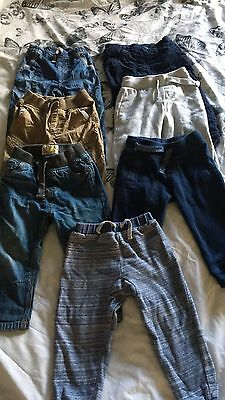 Boys Trousers Bundle Size 1.5-2 Years