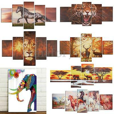 Animal Design Modern Art Canvas Print Painting Picture Wall Home Hanging Decor