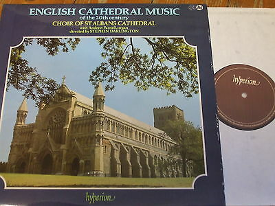 A66018 English Cathedral Music of the 20th Century / Darlington / St. Albans