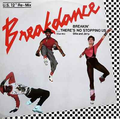 "OLLIE & JERRY - Breakin' There's No Stopping Us (12"") - G-VG/G"