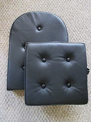 Piper J3 Cub Leather Seat Front Cushion Set, Original Styling