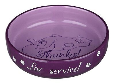 New Trixie - Thanks For Service - Cat Bowl For Short Nosed Cats 15cm - 24795