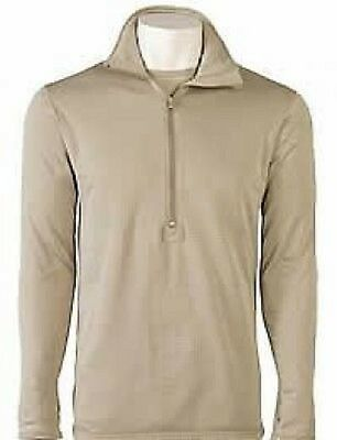 US ARMY Peckham Polartec Grid long sleeve cold weather shirt XLL XLarge Long