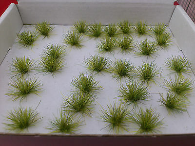 30 Tall Meadow Grass Tufts for Model Railway/Dioramas/Scenery