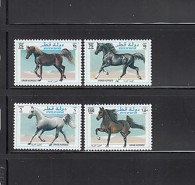 Qatar 1997 Horses Sc 897-900 complete  mint never hinged