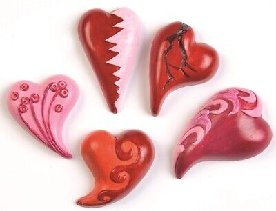 Moulds Hearts curved