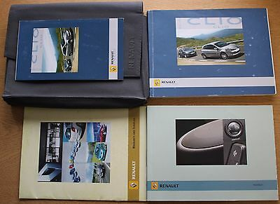 Renault Clio Iii 2005-2009 Owners Manual Handbook Wallet Pack 11748