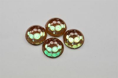 1 Genuine Very Rare Saphiret Flatback Cabochons, Very Old 15mm