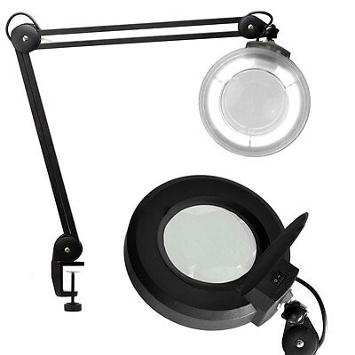 Brand NEW Desk Clamp MAGNIFYING LAMP BEAUTY FACIAL MAGNIFIER w/ Adjustable Base