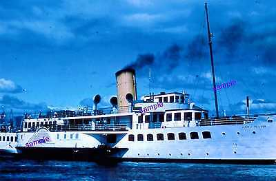 """MAID OF THE LOCH"", PADDLE STEAMER Under Steam, Now Being Restord"