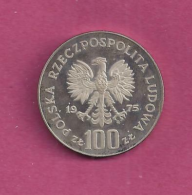 100 Zloty coin dated 1975 from POLAND