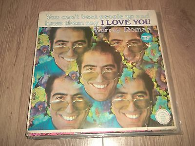 """Murray Roman """" You Can't Beat People Up And Have Them Say I Love You """" Rare Lp"""