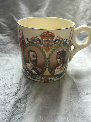 Silver Jubilee King George V & Queen Mary Small Mug