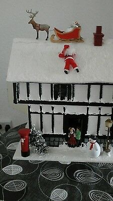 christmas dolls house 12th scale