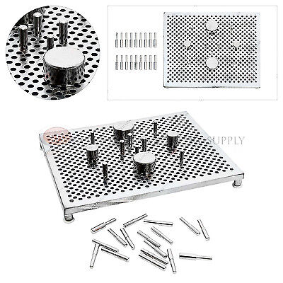 Deluxe Thing-A-Ma JIG Wire Wrapping Shaping Kit Jewelers Tool Beadsmith Aluminum