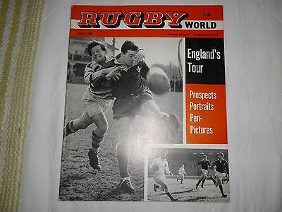 Rugby World Magazine May 1963