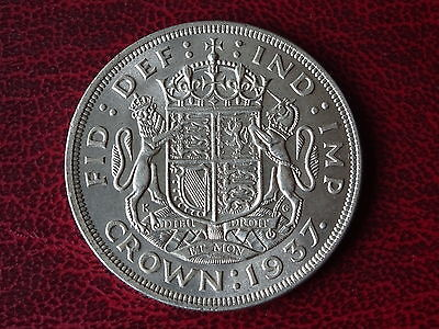 George V1 Coronation Crown 1937 Gef Condition