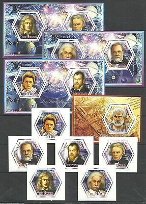 .Tchad - Famous People Scientists;Einstein - MNH