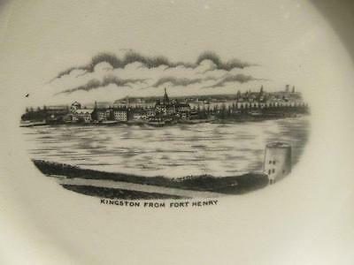 """Kingston from Fort Henry Vintage Myott's England 7"""" China Plate"""