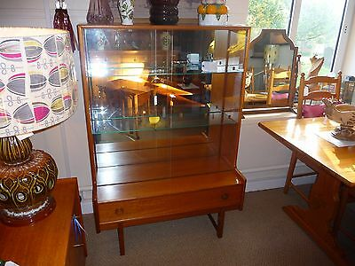Vintage Retro Mid Century Cabinet/Bookcase by Turnidge