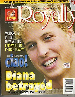 PRINCE WILLIAM UK Royalty Magazine Vol 16 No 10 FAREWELL TO PRINCE TOMMY