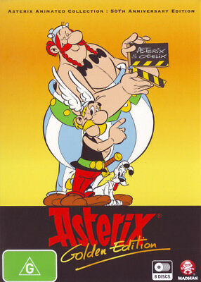 Asterix Animated Cartoon Collection Box Set 8 Movies DVD R4 New!!