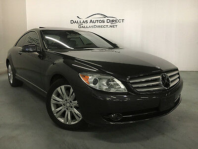 2010 Mercedes-Benz CL-Class 4Matic Coupe 2-Door 2010 Mercedes-Benz **EVERY OPTION AVAILABLE**