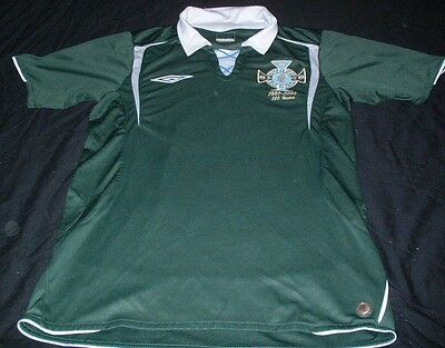 Northern Ireland Ulster Football Small Mans Rare 1880-2005 125 Year Home Jersey