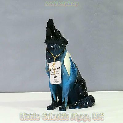 Call of the Wolf 19318 WOLF ECLIPSE 6.25 inch Resin Figurine New in Gift Box