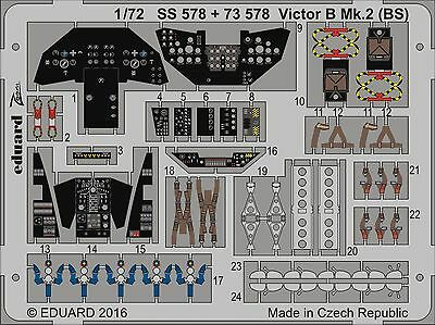 EDUARD ZOOM SS578 Detail Set for Airfix® Kit Victor B Mk.2 (BS) in 1:72