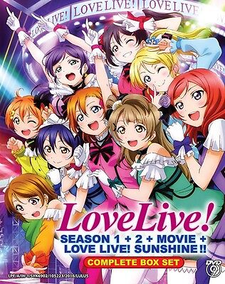 LOVE LIVE! Box Set | S1+S2+S3+Movie | 01-39+1 | Engl. Subs | 4 DVDs (VS0063)-LU