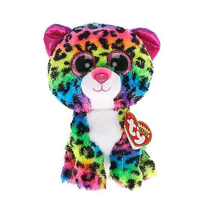 Ty Beanie Boos - Dotty the Leopard Soft Cuddly Plush Collecible Toy