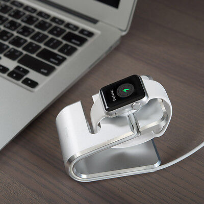 VAWiK Production Master Charger Stand Silver tailor-made 1 piece for Apple watch