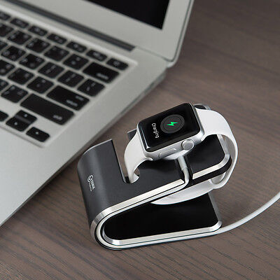 VAWiK Production Master Charger Stand Black Manimalism 1 piece for Apple watch