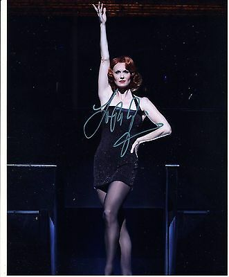 Leigh Zimmerman Autograph Signed 10x8 Photo [6194]